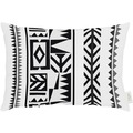 APELT Loft Style Kissen schwarz/weiß 35x50