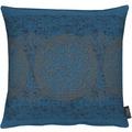 APELT Loft Style Kissenhülle blau/kupfer 46x46
