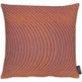 APELT Loft Style Kissenhülle rot 40x40, Wellenmuster