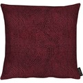 APELT Modern Luxury Kissen bordeaux 39x39 cm