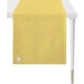 APELT Outdoor Läufer gelb/stein 46x135 cm, Stockmuster