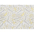 APELT OUTDOOR Platzset gelb 33x46, Pflanzenmuster