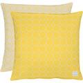 APELT Outdoor Wendekissen gelb/stein 45x45 cm, Kreismuster