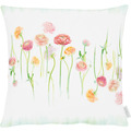 APELT Springtime Kissen weiß/bunt 45x45 cm
