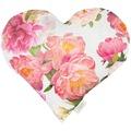APELT Summer Garden Herzkissen rose 35x40