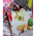 APELT Summer Garden Kissen bunt / multi, Früchte 39x39 cm