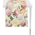 APELT Summer Garden Läufer rose / gelb 45x135 cm