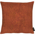 APELT Uni-Basic Kissen allover Muster terracotta 39x39 cm