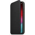 Apple iPhone XS Leather Folio black