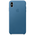 Apple iPhone XS Max Leather Case cape cod blue