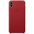 Apple iPhone XS Max Leather Case (PRODUCT) RED