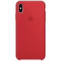 Apple iPhone XS Max Silicone Case (PRODUCT) RED