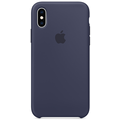 Apple iPhone XS Silicone Case midnight blue