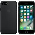 Apple Silicone Case für iPhone 7 - schwarz