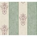 Architects Paper barocke Mustertapete Luxury Classics Vliestapete beige grün metallic 343715