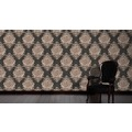 Architects Paper barocke Mustertapete Luxury Classics Vliestapete braun metallic schwarz 343722 10,05 m x 0,53 m