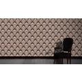 Architects Paper barocke Mustertapete Luxury Classics Vliestapete braun metallic schwarz 10,05 m x 0,53 m