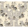 Architects Paper florale Mustertapete Kind of White by Wolfgang Joop beige grau metallic 10,05 m x 0,53 m