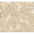 Architects Paper klassische Mustertapete Kind of White by Wolfgang Joop beige creme metallic 10,05 m x 0,53 m