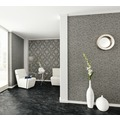 Architects Paper klassische Mustertapete Luxury wallpaper Tapete grau metallic 10,05 m x 0,53 m