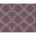 Architects Paper Mustertapete Tessuto, Textiltapete, pastellviolett, schwarzrot, rotlila 10,05 m x 0,53 m