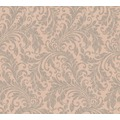 Architects Paper Textiltapete Di Seta Tapete mit floralen Ornamenten beigealtrosa metallic 366663 10,05 m x 0,70 m