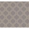 Architects Paper Textiltapete Di Seta Tapete mit floralen Ornamenten dunkelgrau metallic 366655 10,05 m x 0,70 m