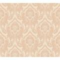 Architects Paper Textiltapete Di Seta Tapete mit Ornamenten barock hellorange beige metallic 366683 10,05 m x 0,70 m