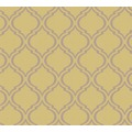 Architects Paper Textiltapete Di Seta Tapete mit Ornamenten barock sandgelb metallic 366654 10,05 m x 0,70 m