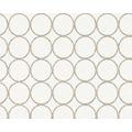 Architects Paper überstreichbare Vliestapete Pigment Quarzit, weiß 10,05 m x 0,53 m