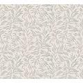 Architects Paper Vliestapete Alpha Tapete floral beige metallic 333262 10,05 m x 0,53 m