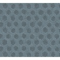 Architects Paper Vliestapete Alpha Tapete grafisch blau metallic 333274 10,05 m x 0,53 m
