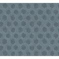 Architects Paper Vliestapete Alpha Tapete grafisch blau metallic 333274 10,05 m x 0,53 m