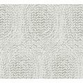Architects Paper Vliestapete Alpha Tapete mit grafischen Kreisen beige metallic 333733 10,05 m x 0,53 m