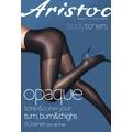 Aristoc Bodytoners Opaque Low Leg Toner Tights Black - XL