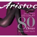 Aristoc Leg Luxury 80D Opaque Tights Black XL