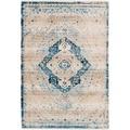 Arte Espina Teppich Baroque 500 Creme / Blau 120 x 170 cm