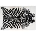 Arte Espina Teppich Rabbit Animal 400 Schwarz / Weiß 120 x 160 cm