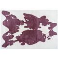 Arte Espina Teppich Rabbit Animal 500 Lilac / Weiß 120 x 160 cm