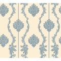 AS Création barocke Mustertapete Château 5 Vliestapete beige blau metallic 344936 10,05 m x 0,53 m