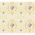 AS Création barocke Mustertapete Château 5 Vliestapete bunt creme metallic 343911