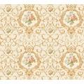 AS Création barocke Mustertapete Château 5 Vliestapete bunt creme metallic 343915 10,05 m x 0,53 m