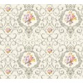 AS Création barocke Mustertapete Château 5 Vliestapete bunt grau metallic 343913