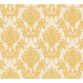 AS Création barocke Mustertapete Château 5 Vliestapete creme gelb metallic 344924 10,05 m x 0,53 m