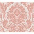 AS Création barocke Mustertapete Kingston Strukturprofiltapete metallic rosa 327502 10,05 m x 0,53 m