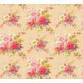 AS Création florale Mustertapete Château 5 Vliestapete bunt metallic 345082 10,05 m x 0,53 m