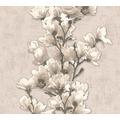 AS Création florale Mustertapete Happy Spring Vliestapete beige braun 321392 10,05 m x 0,53 m