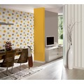 AS Création florale Mustertapete Happy Spring Vliestapete braun gelb weiß