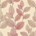 AS Création florale Mustertapete in Röntgen Optik X-Ray Vliestapete beige metallic rot 342473 10,05 m x 0,53 m