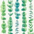 AS Création florale Mustertapete in Röntgen Optik X-Ray Vliestapete grün metallic weiß 342464 10,05 m x 0,53 m